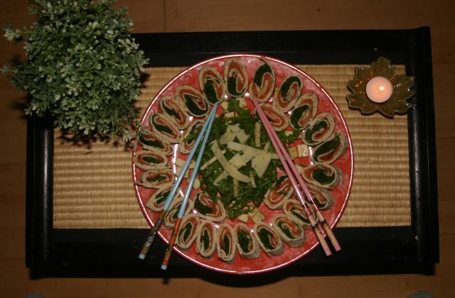 Roulés au saumon fumé - Photo par polodubc
