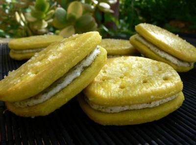Biscuits fourrés au pesto - Photo par nathal8