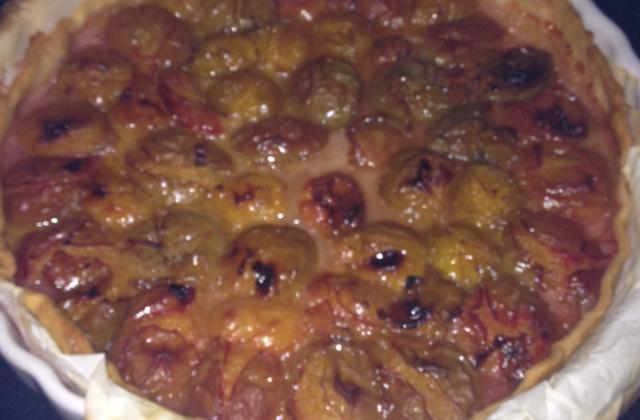 Tarte aux prunes au thermomix - Photo par 750g
