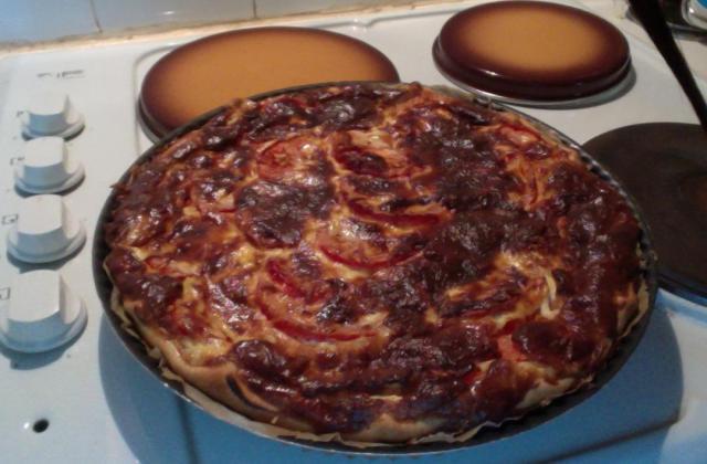 Tarte à la tomate et au thon - Photo par bernarQb