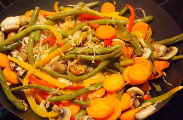 Wok de légumes inratable - Photo par melicr