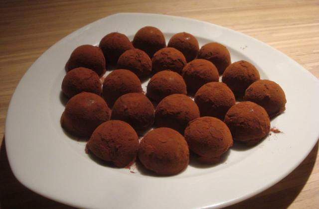 Truffes gourmandes au chocolat - Photo par cameleH