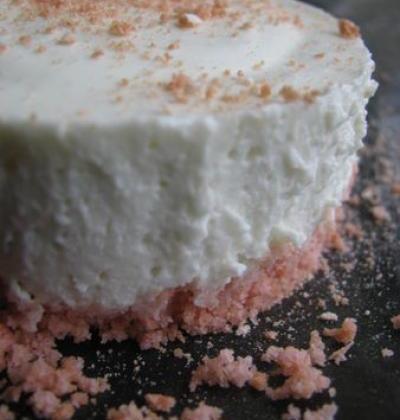 Le cheesecake à la violette - Photo par 29solen29
