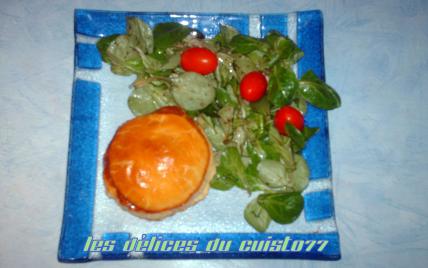 Feuilleté de boudin blanc au pommeau de normandie - Photo par Claude.Cuisto77