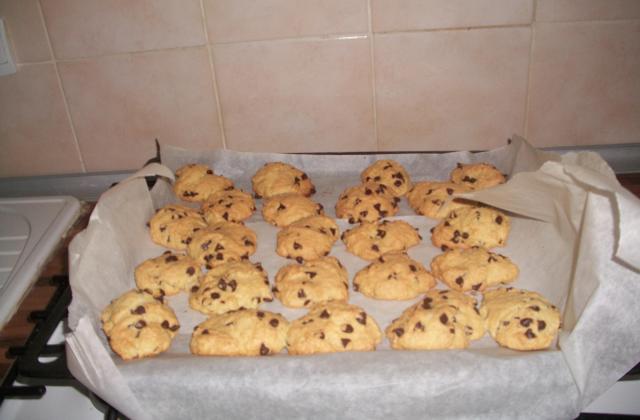 Cookies noix de coco et pépites de chocolat - Photo par Christelle60