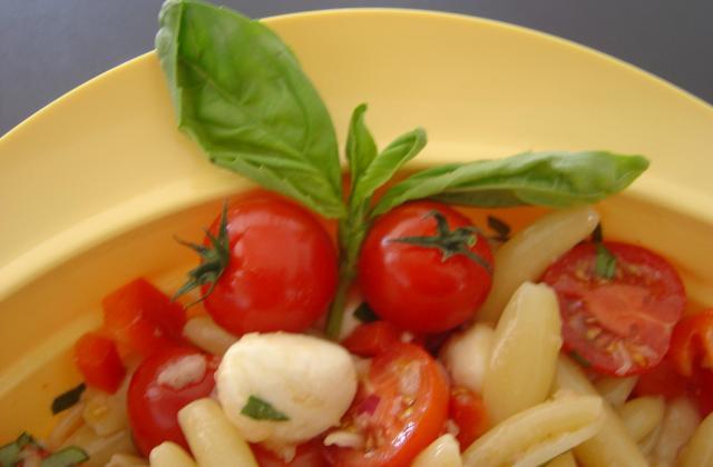 salade de pâtes façon italienne - Photo par just-epicurienne