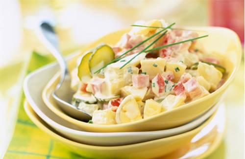 Salade de pommes de terre au jambon - Photo par Philadelphia