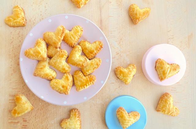 Mini pies Saint-Valentin - Photo par perezvk