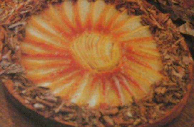 Tarte aux poires et au caramel - Photo par capali