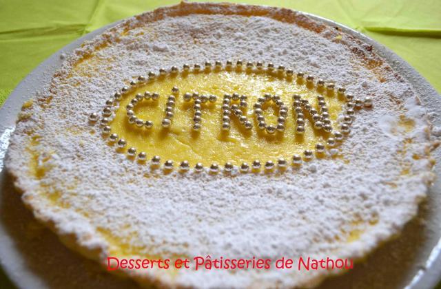 Tarte festive au citron et sucre impalpable - Photo par Communauté 750g