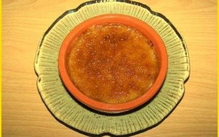 Crèmes brûlées au pain d'épices - Photo par biscottine
