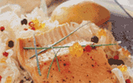Pavé de truite en choucroute - Photo par CIPA