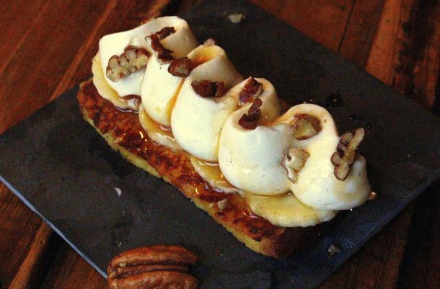 Tartine perdue à la mousse de St Môret - Photo par Cooking Mumu.com