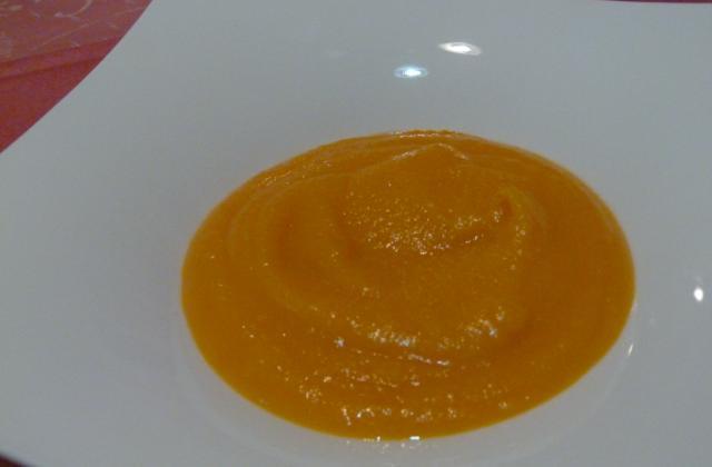 La soupe au potiron de la fée-maman - Photo par Un macaron, une glace, deux chocolatines
