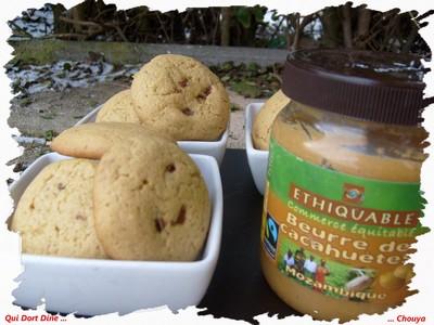 Biscuits au beurre de cacahuète - Photo par chouya