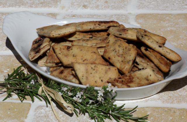 Crackers au Romarin - Photo par Cyril Leroy