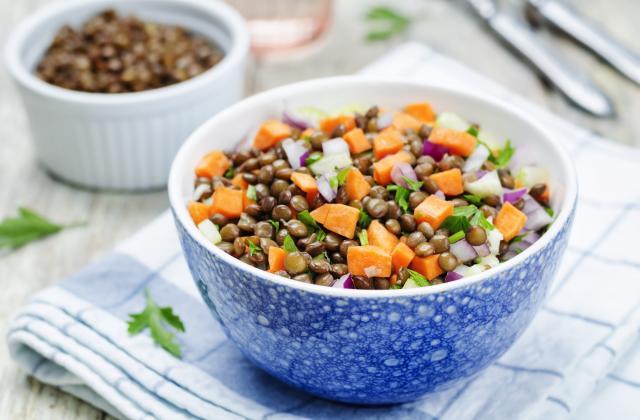 10 recettes de salade de lentilles pour des déjeuners équilibrés et complets - Photo par Florentine - 750g