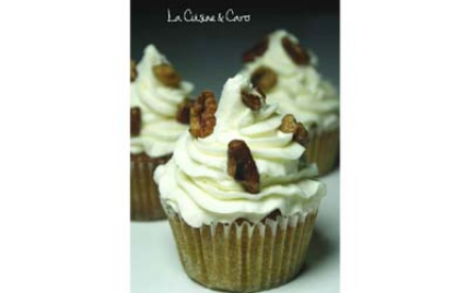 Cupcakes citrouille vanille - Photo par la cuisine caro