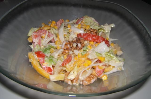 Salade composée au miel - Photo par laroche