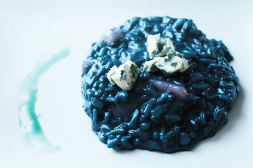 Risotto bleu au roquefort et aux poires - Photo par Sabrina_Zekitchounette