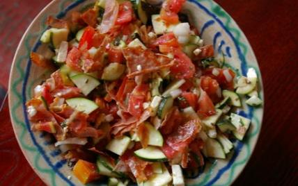 Salade d'été croustillante et fondante - Photo par pplaja