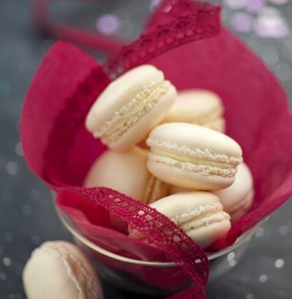 Macarons au Boursault - Photo par Quiveutdufromage.com