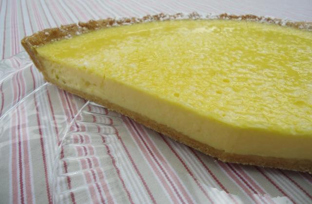 Tarte à la crème de citron et mascarpone - Photo par agathe44