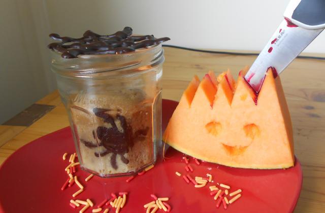 Cake terrifiant d'Halloween - Photo par kate04