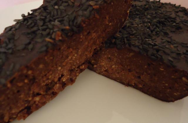 Fondant au chocolat et tofu soyeux - Photo par titegrenouye