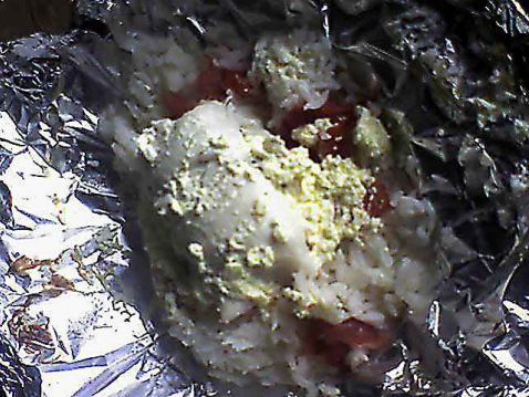 Filets de panga en papillote et à la crème - Photo par lepetitcha