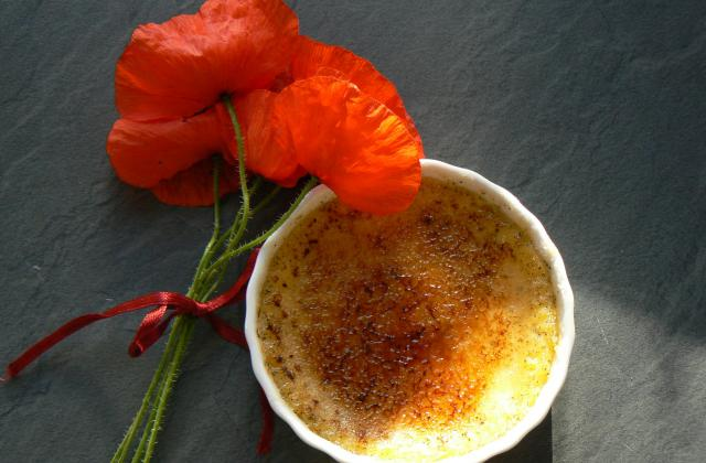 Crème brûlée parfumée à la vanille - Photo par cloclo64