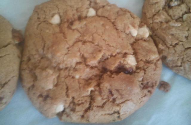 Cookies à la châtaigne et aux pépites de chocolat blanc - Photo par MyCulinaryCurriculum