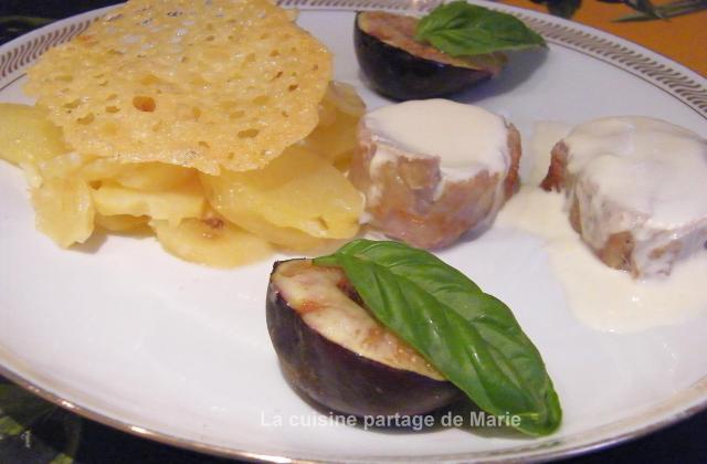 Déclinaison de cantal autour du filet mignon - Photo par marierechou