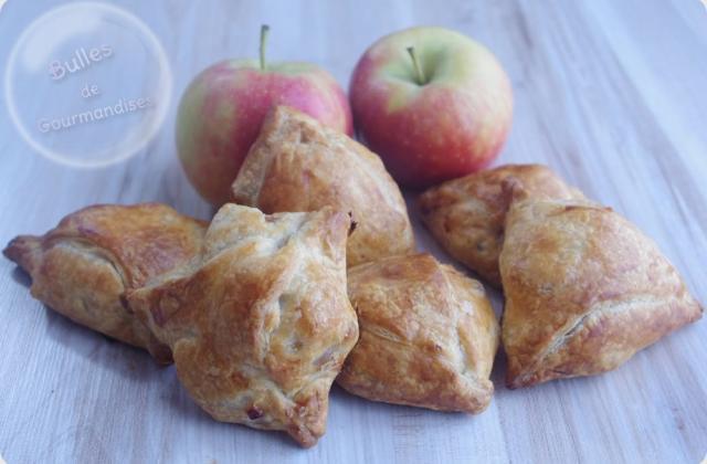Feuilletés pommes, bananes, chocolat - Photo par Bulles de Gourmandises