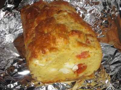 Cake féta-tomates - Photo par fifill