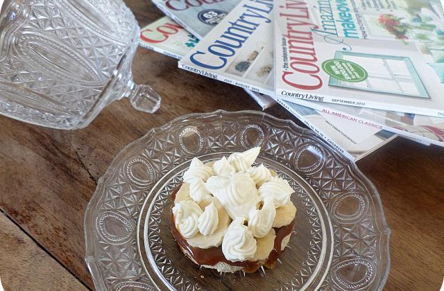Tartine british banoffee - Photo par La petite cuisine de Sabine