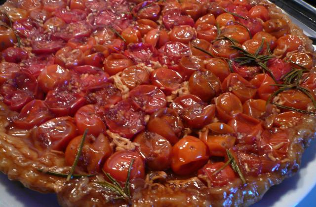 Tarte tatin de tomates cerises - Photo par jpdojp