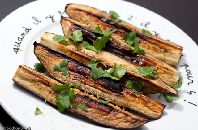 Confit d'aubergines aux légumes - Photo par misset6