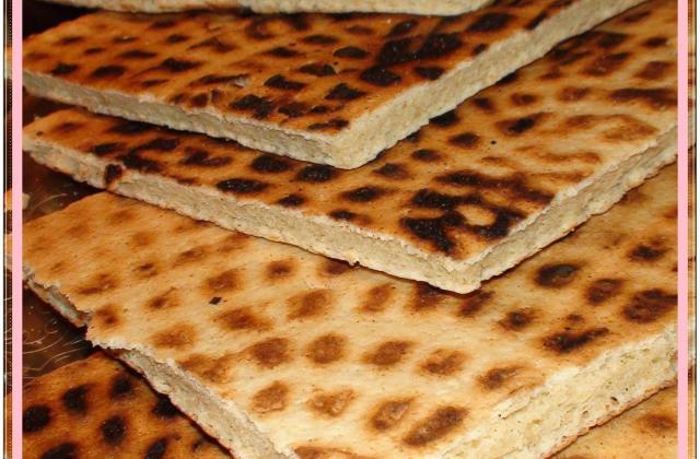 Kesra (galette algérienne) - Photo par La cuisine d'Amélia