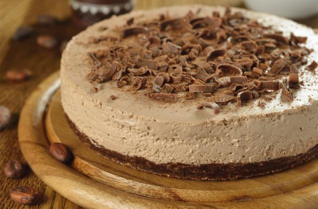 Cheesecake au chocolat et spéculoos - Photo par 750g