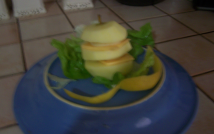 Pomme pyramide fromage - Photo par babasp
