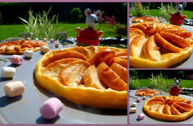 Tartelettes aux pommes, noix et confiture de lait - Photo par CookingFeeLili