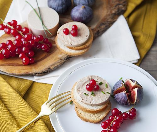 Terrine façon « foie gras végétal » - Photo par Soy