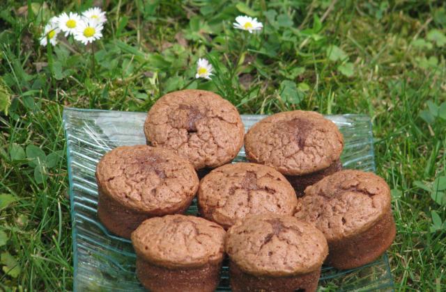 Soufflés au chocolat faciles - Photo par Membre_246200