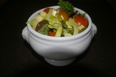 Salade courgette fromage - Photo par christian gérardin