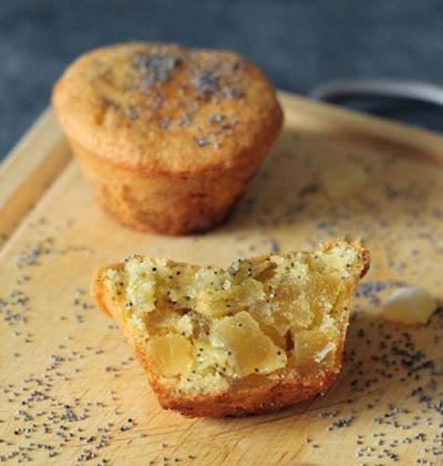 Cake à l'ananas confit et au pavot - Photo par Orts