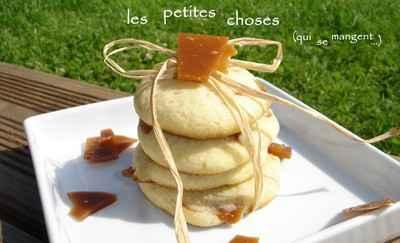 Cookies moelleux aux éclats de caramel au beurre salé - Photo par bailloj