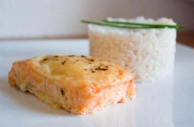 Saumon au cantal - Photo par Stephopoloc