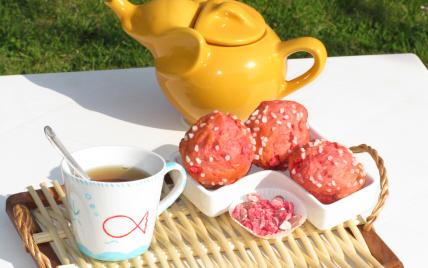 Briochettes aux pralines de lili - Photo par Lili