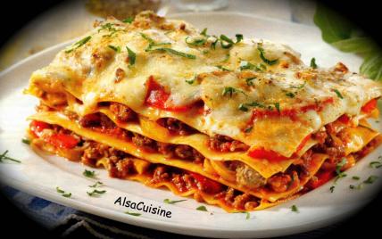 Lasagnes (recette à ma façon) - Photo par PSCHMITT
